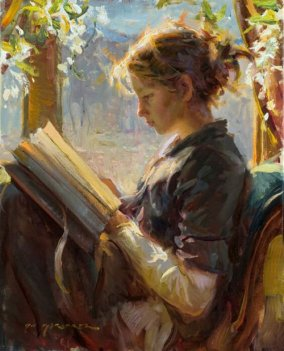 Daniel F. Gerhartz (American, 1965-) ~ The Garden Window